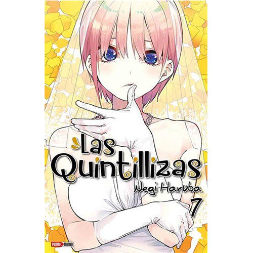 "The Quintessential Quintuplets Vol 7 Paperback ""Spanish Edition"""