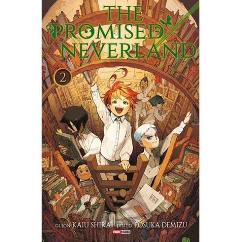 "The Promised Neverland Vol 2 Paperback ""Spanish Edition"""
