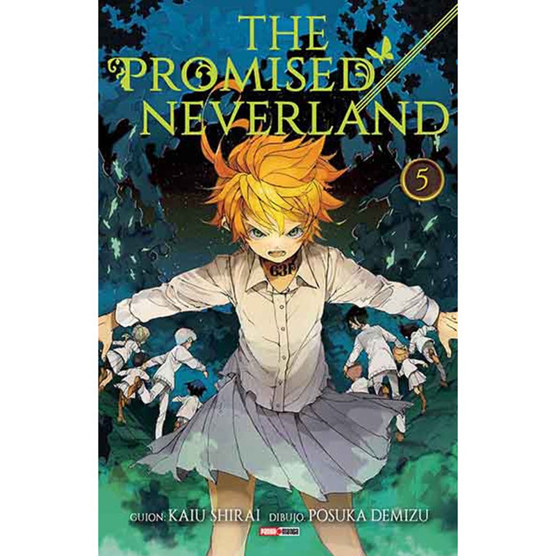 "The Promised Neverland Vol 5 Paperback ""Spanish Edition"""