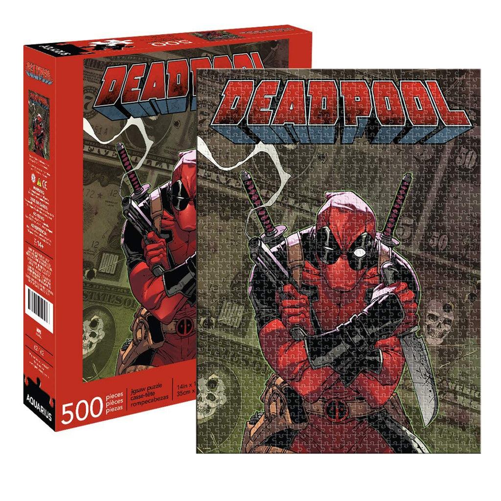 Marvel Deadpool Cover 500 pc Puzzle