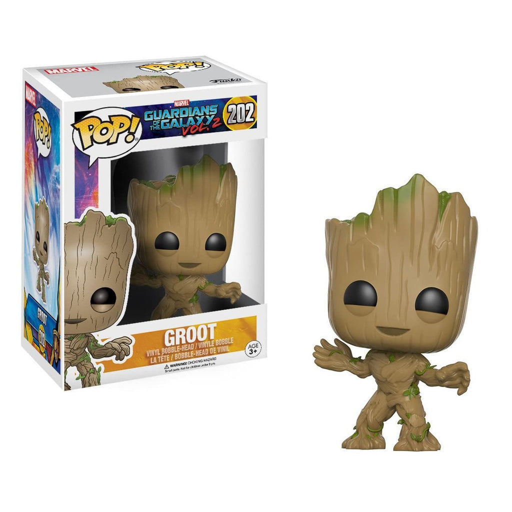 Funko Pop Movies #202 Guardians of The Galaxy vol 2 Groot