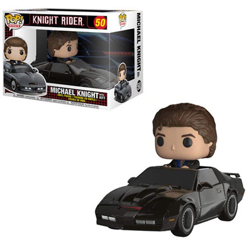 Funko Pop Ride #50: Knight Rider - Michael Knight with Kit Collectible Figure