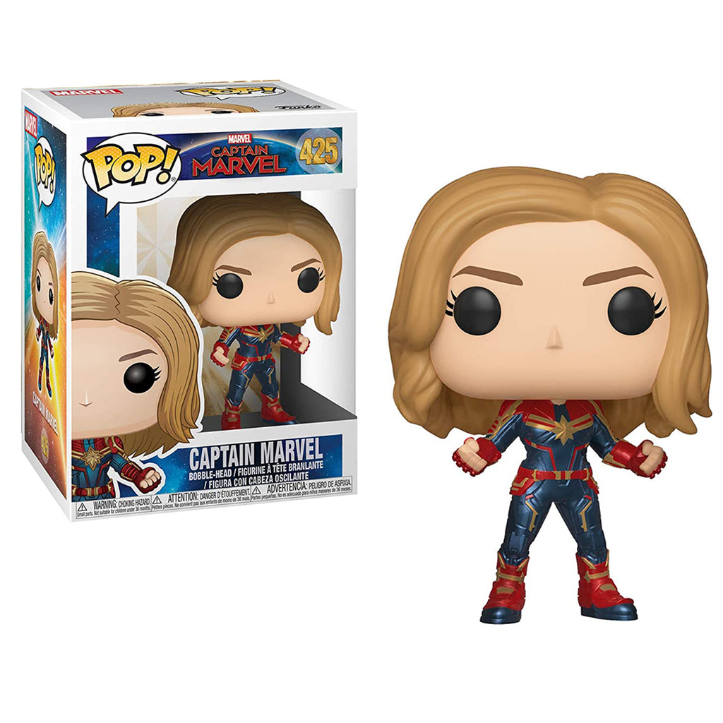 Funko Pop! Marvel #425: Captain Marvel