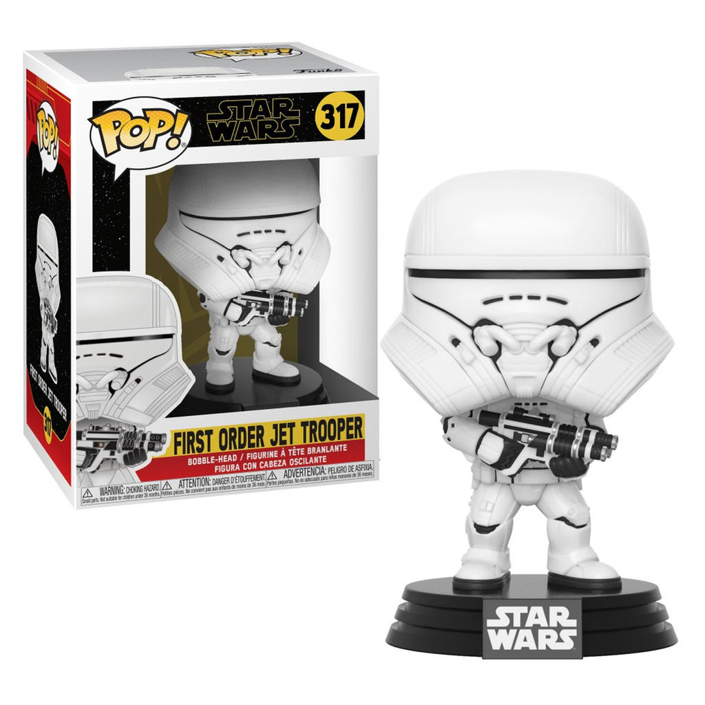 Funko Pop! Star Wars #317: Episode 9, Rise of Skywalker - First Order Jet Trooper