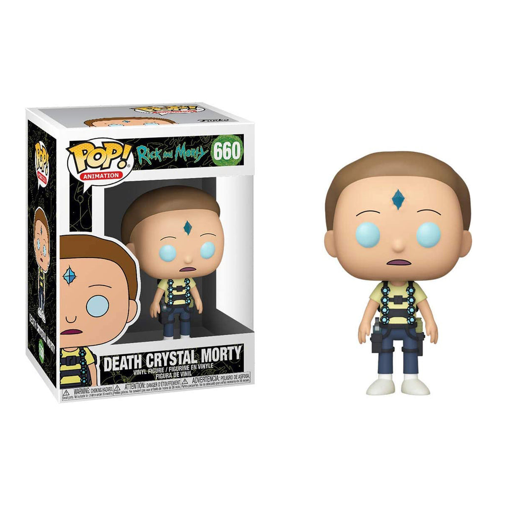 Funko Pop! Animation #660: Rick & Morty - Death Crystal Morty