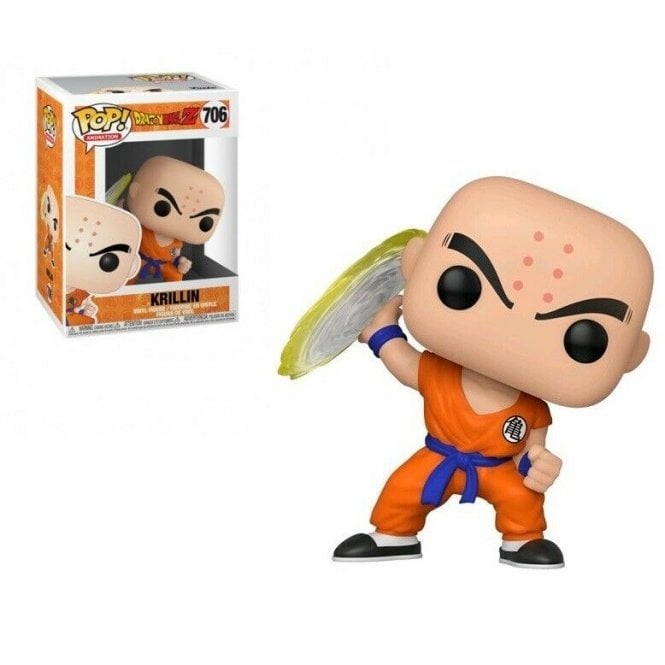 Funko Pop! Animation #706: Dragonball Z - Krillin with Destructo Disc