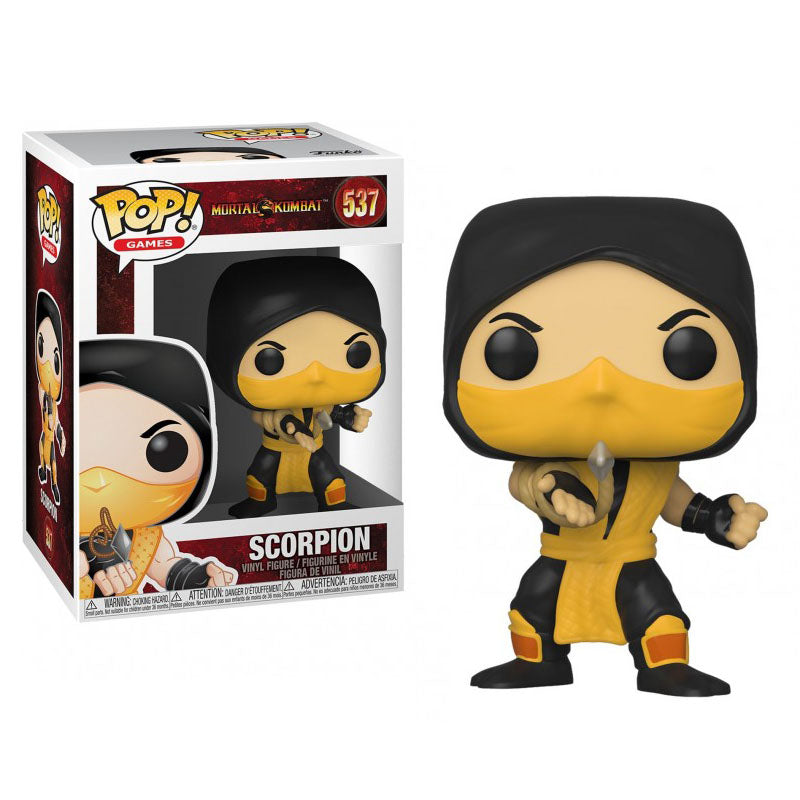 Funko Pop #537 Mortal Kombat Scorpion