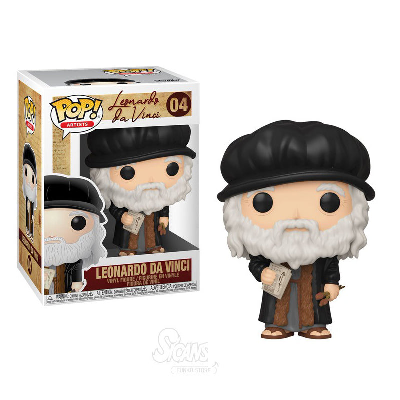 Funko Pop! Artists #04 Leonardo Da Vinci