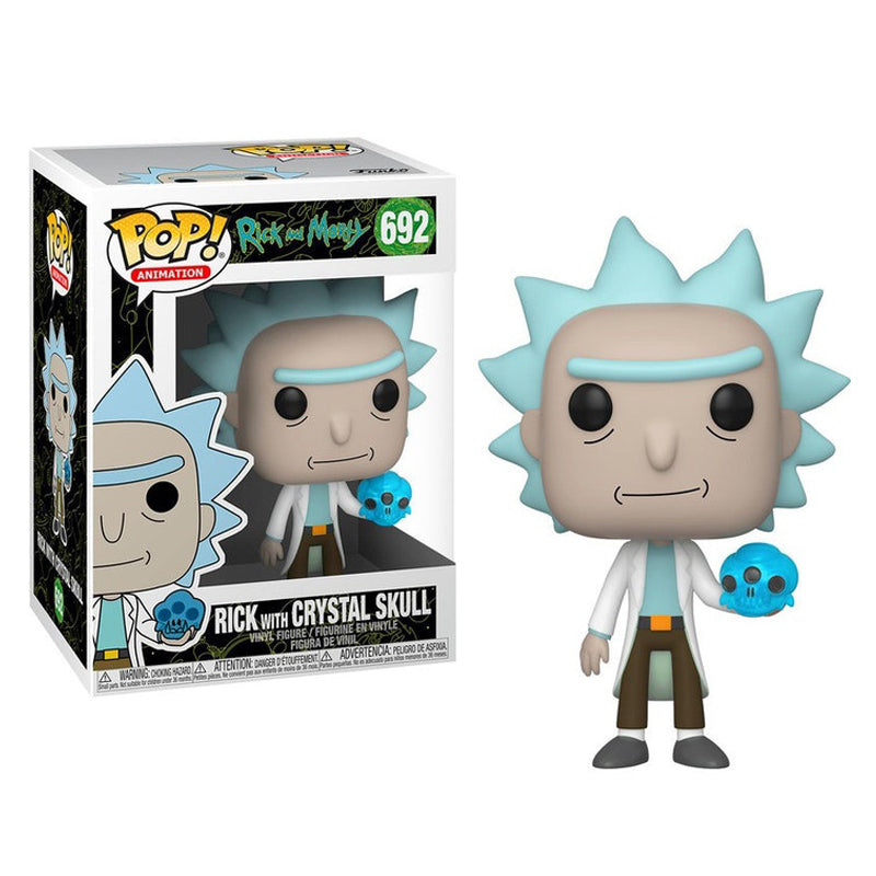 Funko Pop! Animation #692: Rick and Morty - Rick with Crystal Skull