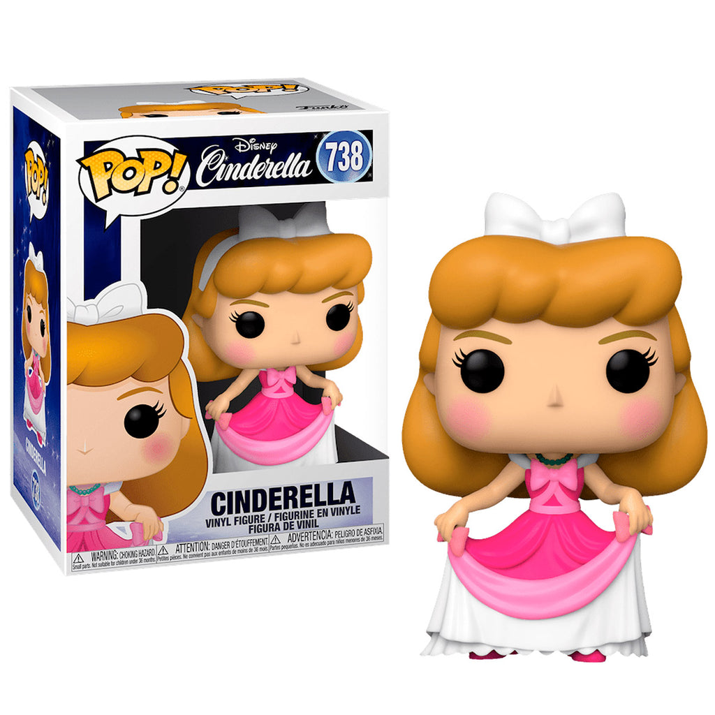Funko Pop #738 Disney Cinderella Pink Dress