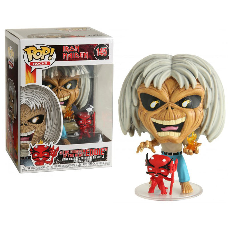 Funko Pop! Rocks #145: Iron Maiden The Number of the Beast Eddie