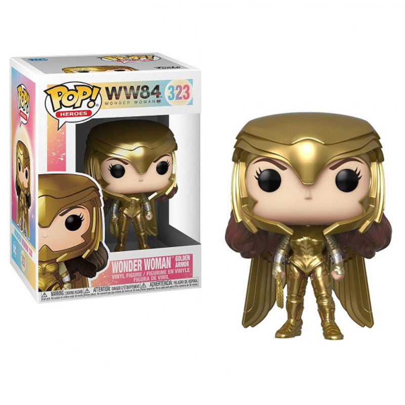 Funko Pop! Heroes #323: Wonder Woman 1984 - Wonder Woman Golden Armor