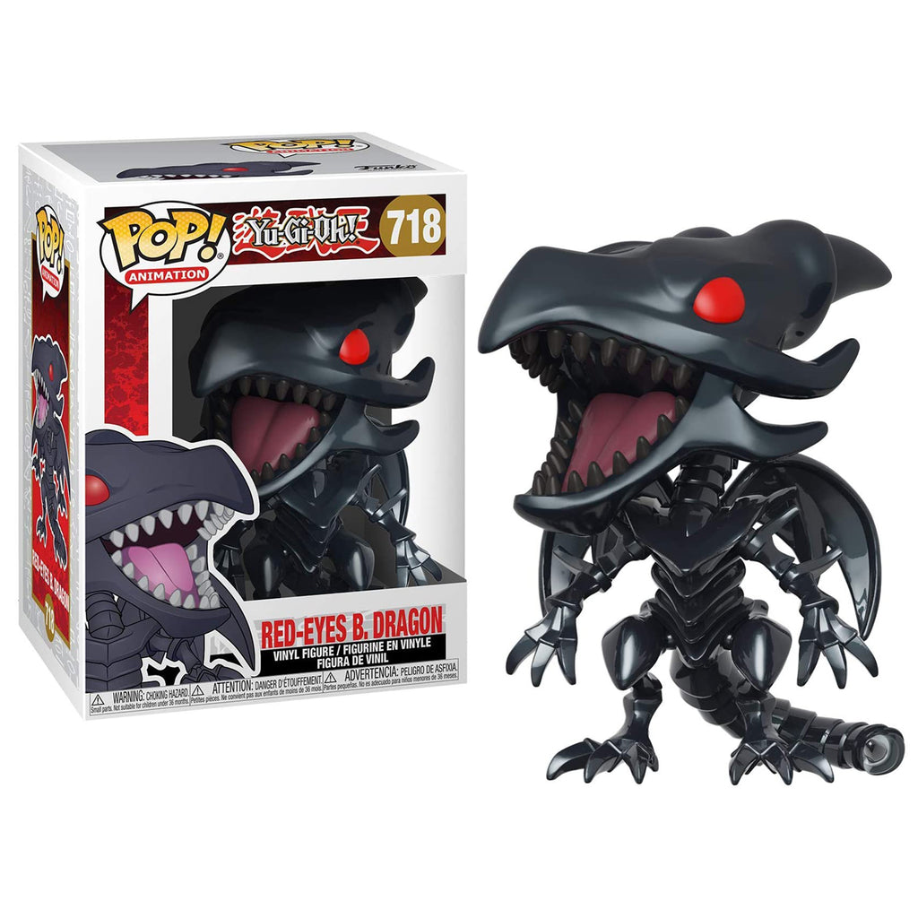 Funko Pop! Animation #718 Yu-Gi-Oh - Red-Eyes Black Dragon