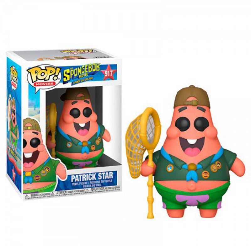 Funko Pop! Movies #917: Spongebob Movie - Patrick Star in Camping Gear