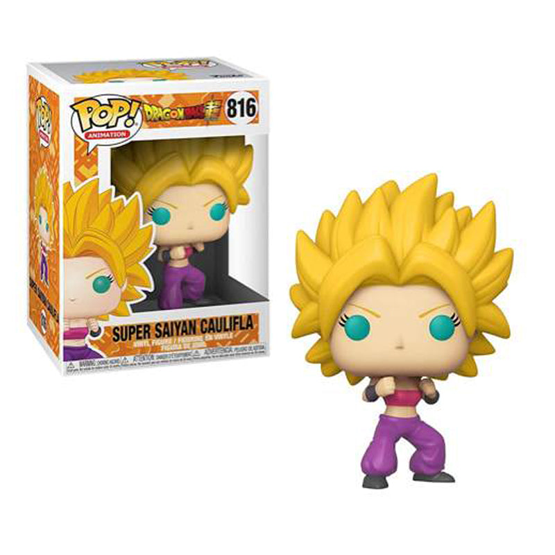 Funko Pop! Animation #816: Dragon Ball Super - Super Saiyan Caulifla