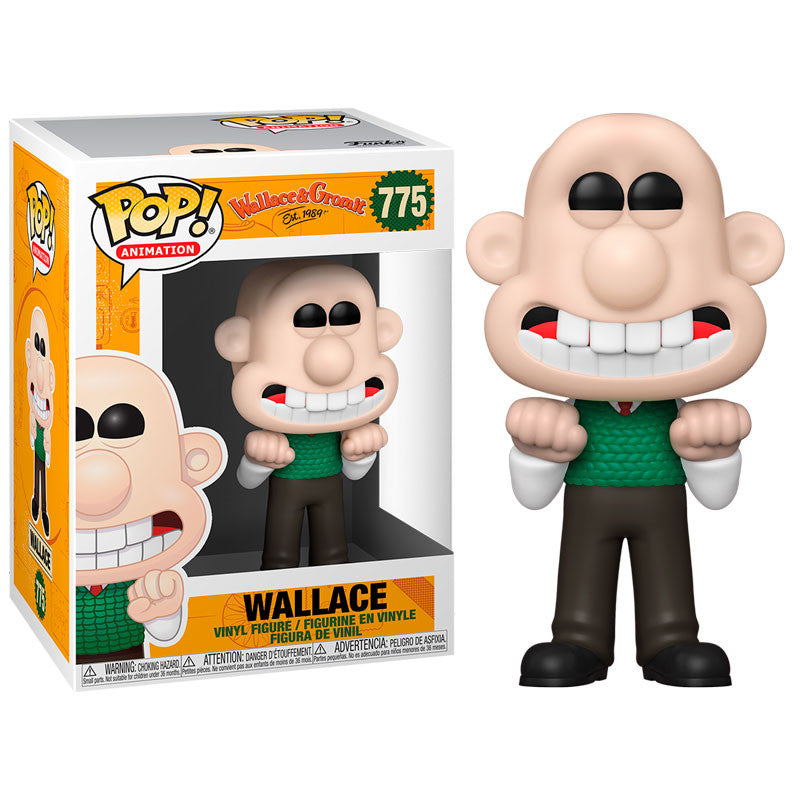 Funko Pop! Animation #775: Wallace & Gromit - Wallace