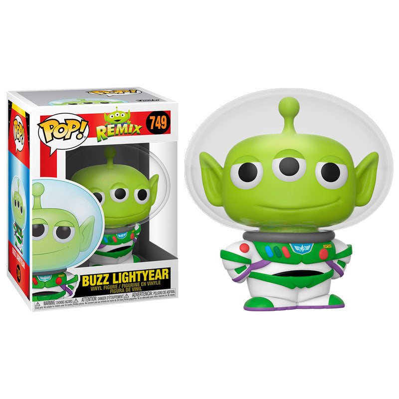 Funko Pop! Disney: Pixar Alien Remix - Alien as Buzz Lightyear