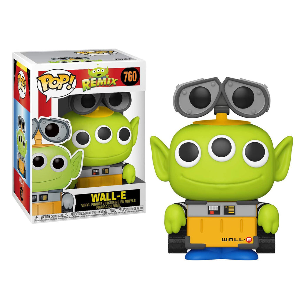 Funko Pop! Disney #760: Pixar Alien Remix - Wall-E
