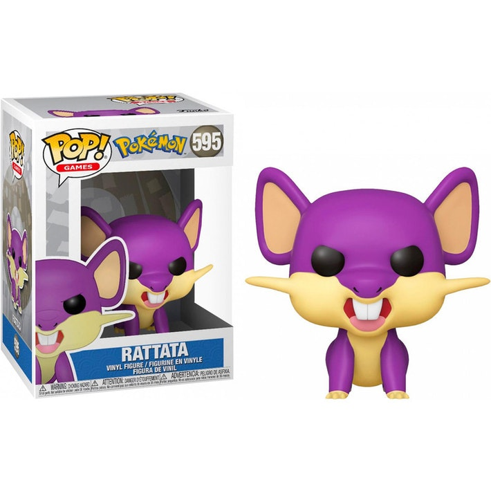Funko Pop! Games #595: Pokemon - Rattata