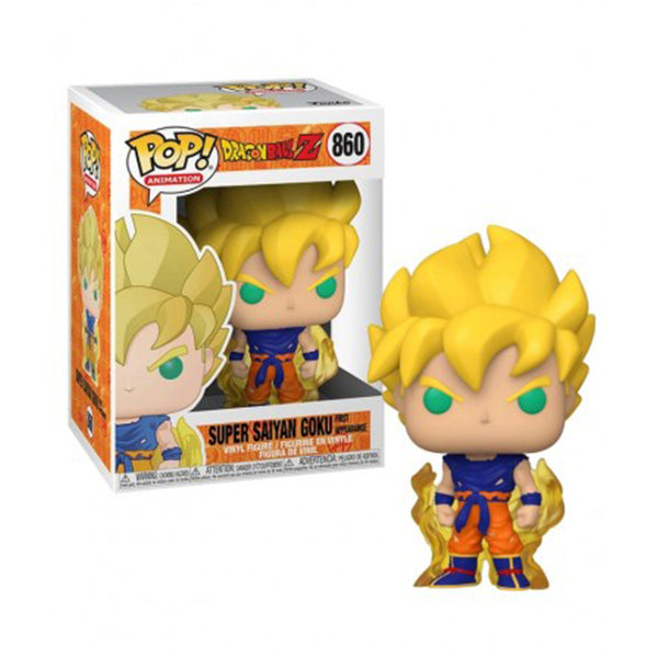Funko Pop! Animation #860: Dragonball Z - Super Saiyan Goku First Appearrance