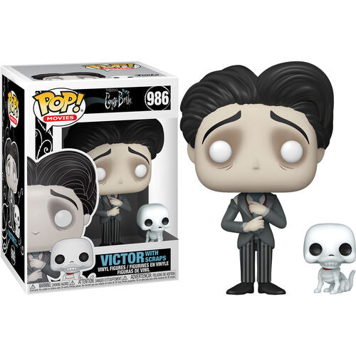 Funko Pop! & Buddy #986: Corpse Bride - Victor with Scraps
