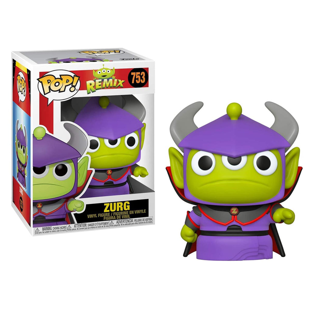 Funko Pop! Disney: Pixar Alien Remix - Alien as Zurg