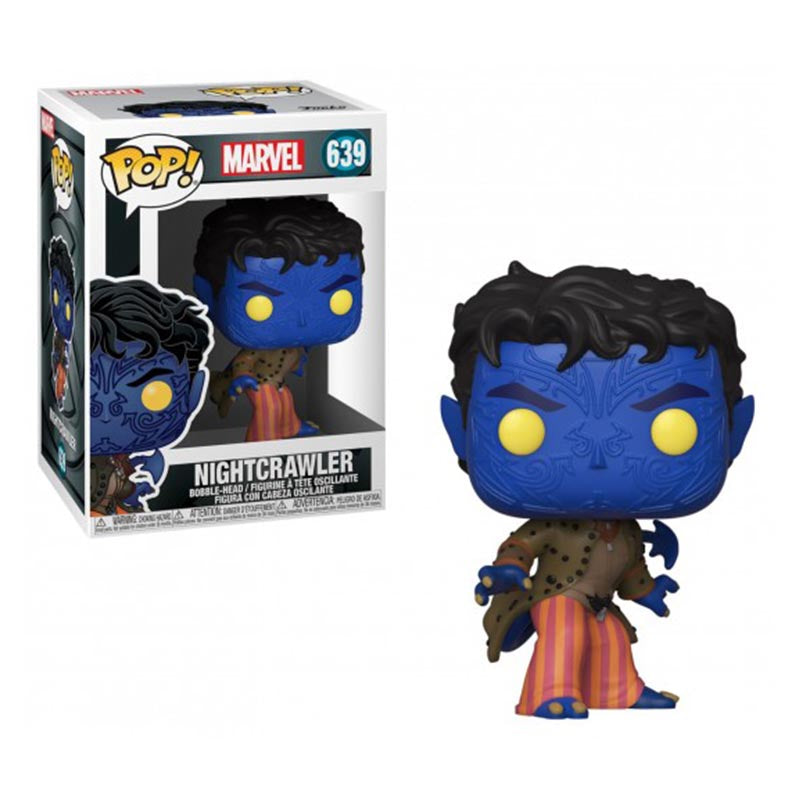 Copia de Funko POP Marvel #640: X-Men 20th Nightcrawler