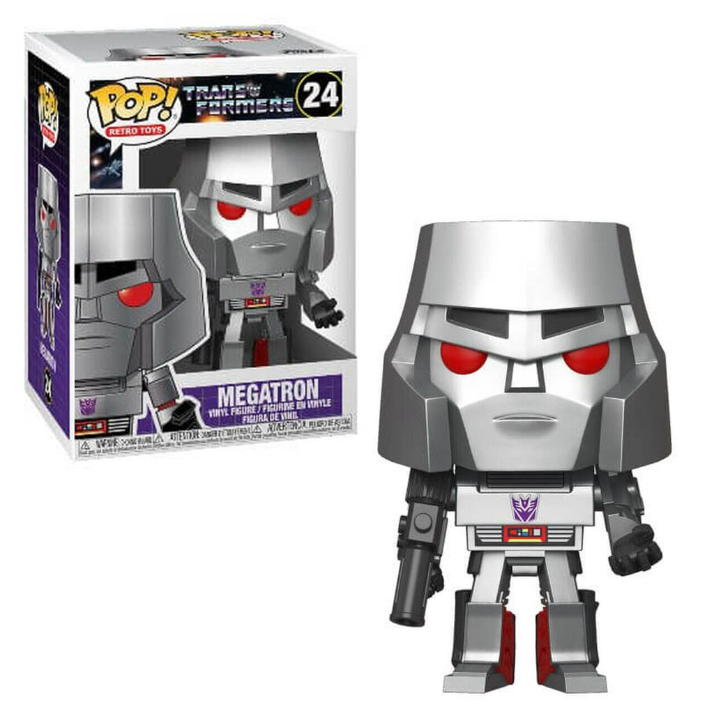 Funko Pop! Retro Toys #24: Transformers - Megatron