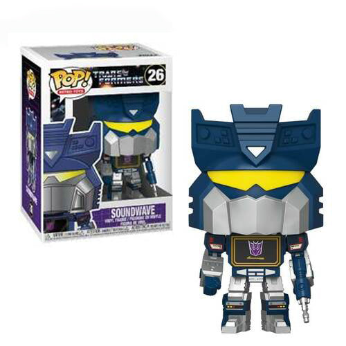 Funko Pop! Retro Toys #26: Transformers - Soundwave