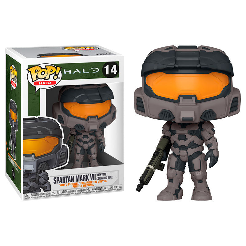 Funko Pop! Games #14: Halo Infinite - Spartan Mark VII with VK78