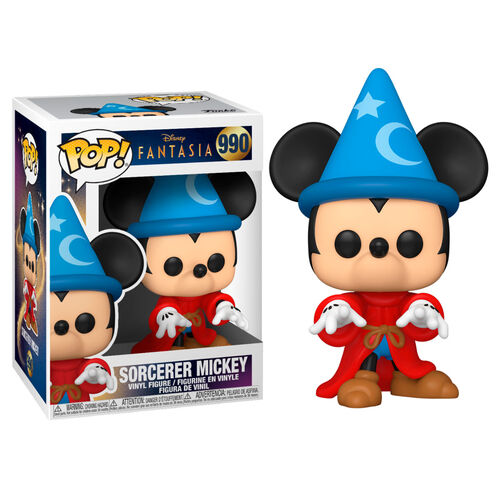 Funko Pop! Disney #990: Fantasia 80th Anniversary - Sorcerer Mickey