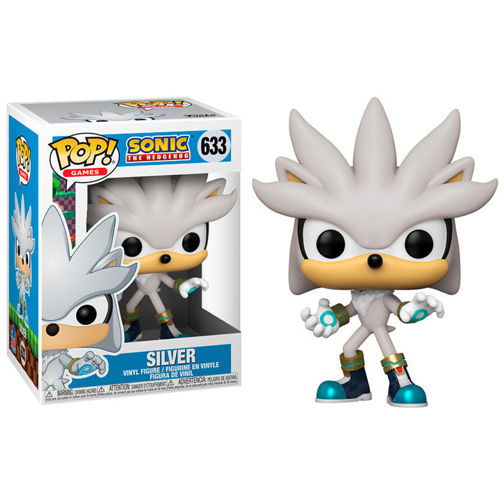 Funko Pop! Games #633: Sonic 30th Anniversary - Silver The Hedgehog