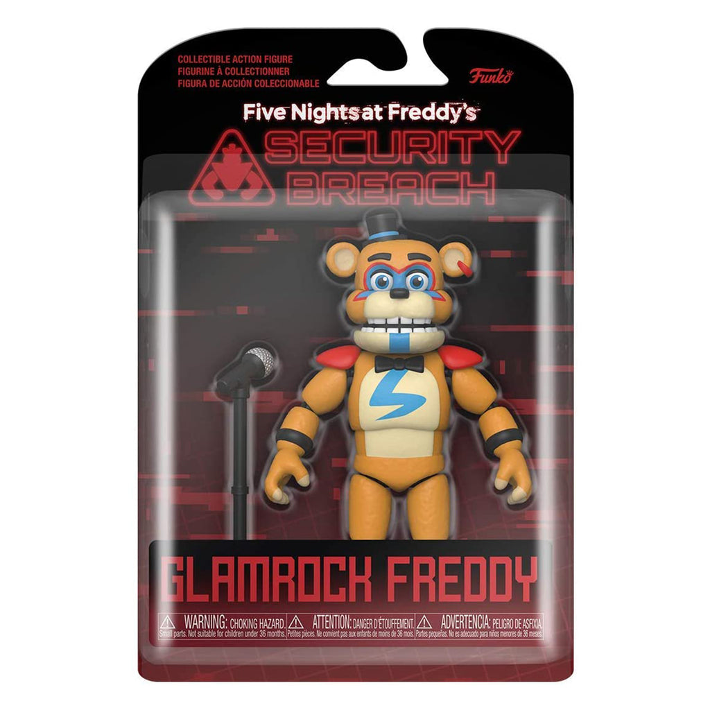 Funko Action Figure: Five Nights at Freddy's, Security Breach - Glamrock Fred
