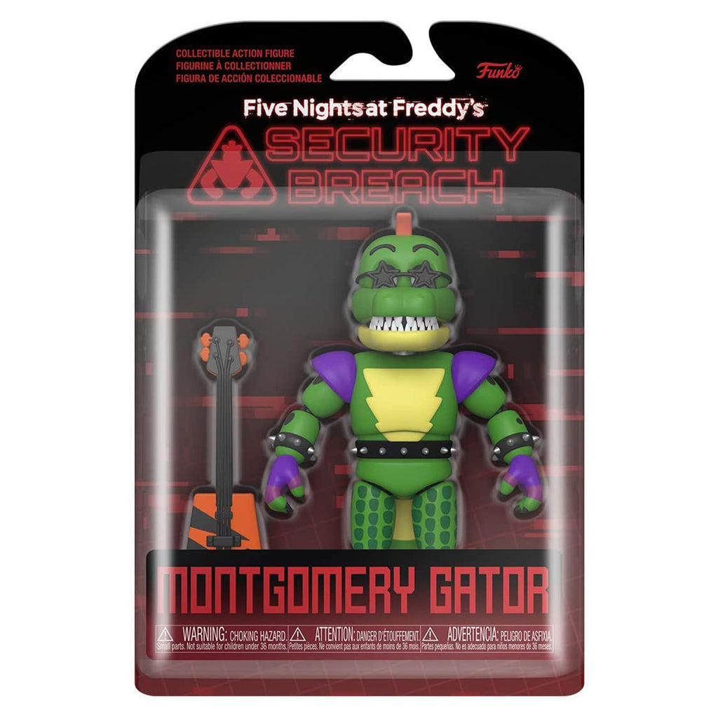 Funko Action Figure: Five Nights at Freddy's, Security Breach - Montgomery Gator
