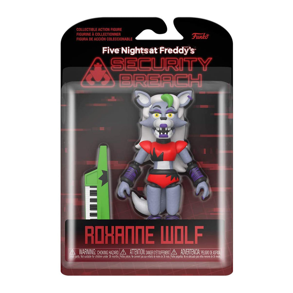 Funko Action Figure: Five Nights at Freddy's, Security Breach - Roxanne Wolf