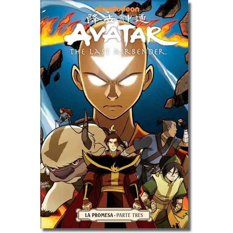 "Avatar The Last Airbender: The Promise Vol 3 Paperback ""Spanish Edition"""
