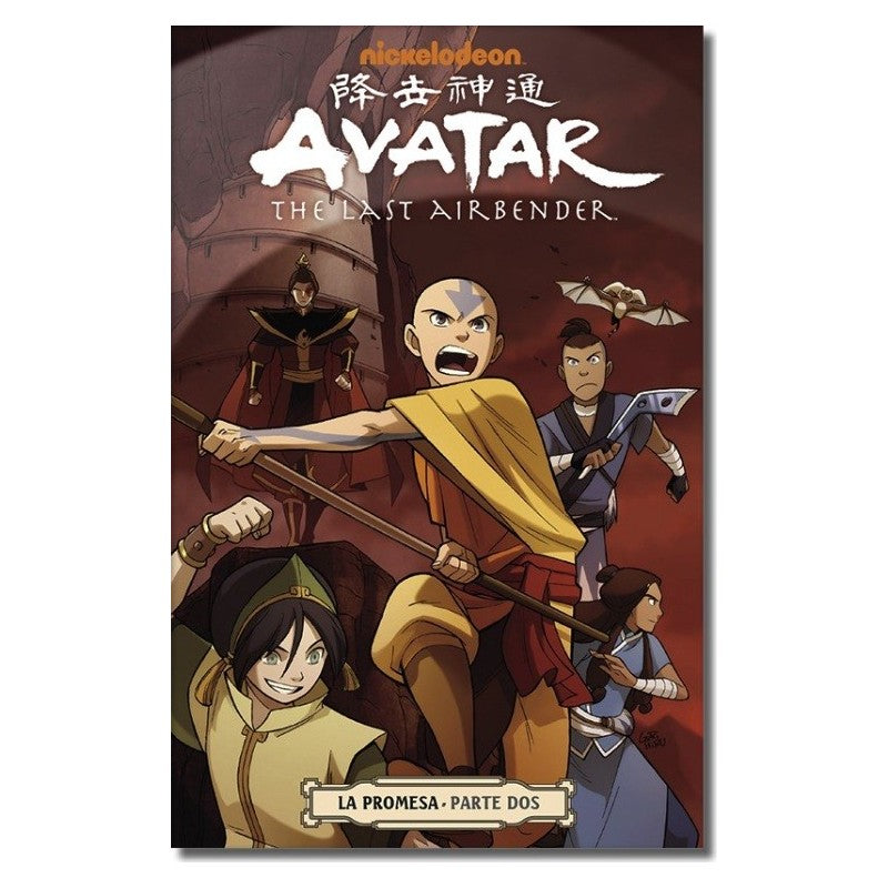 "Avatar The Last Airbender: The Promise Vol 2 Paperback ""Spanish Edition"""