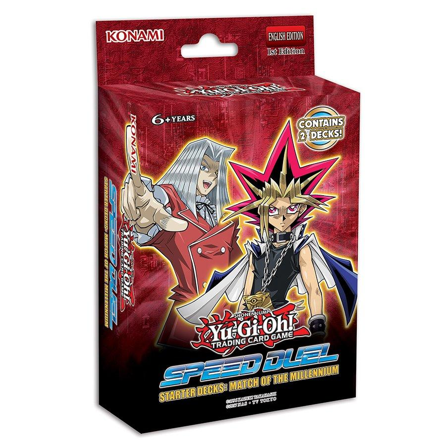 "YuGiOh Trading Card Game - Speed Duel Starter Decks: Match of The Millennium ""ENGLISH EDITION"""