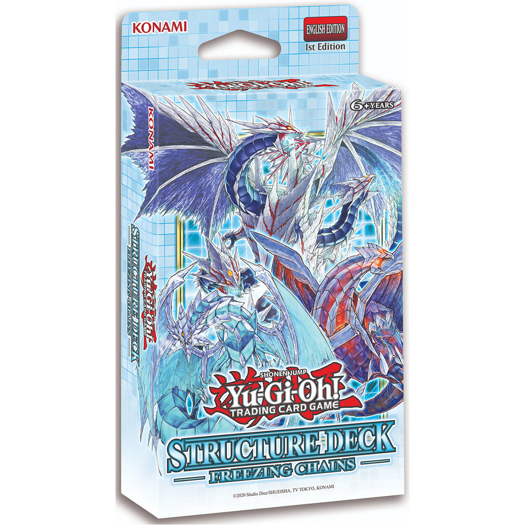 "Konami Yu-Gi-Oh! TCG: Freezing Chains Structure Deck ""SPANISH EDITION"""