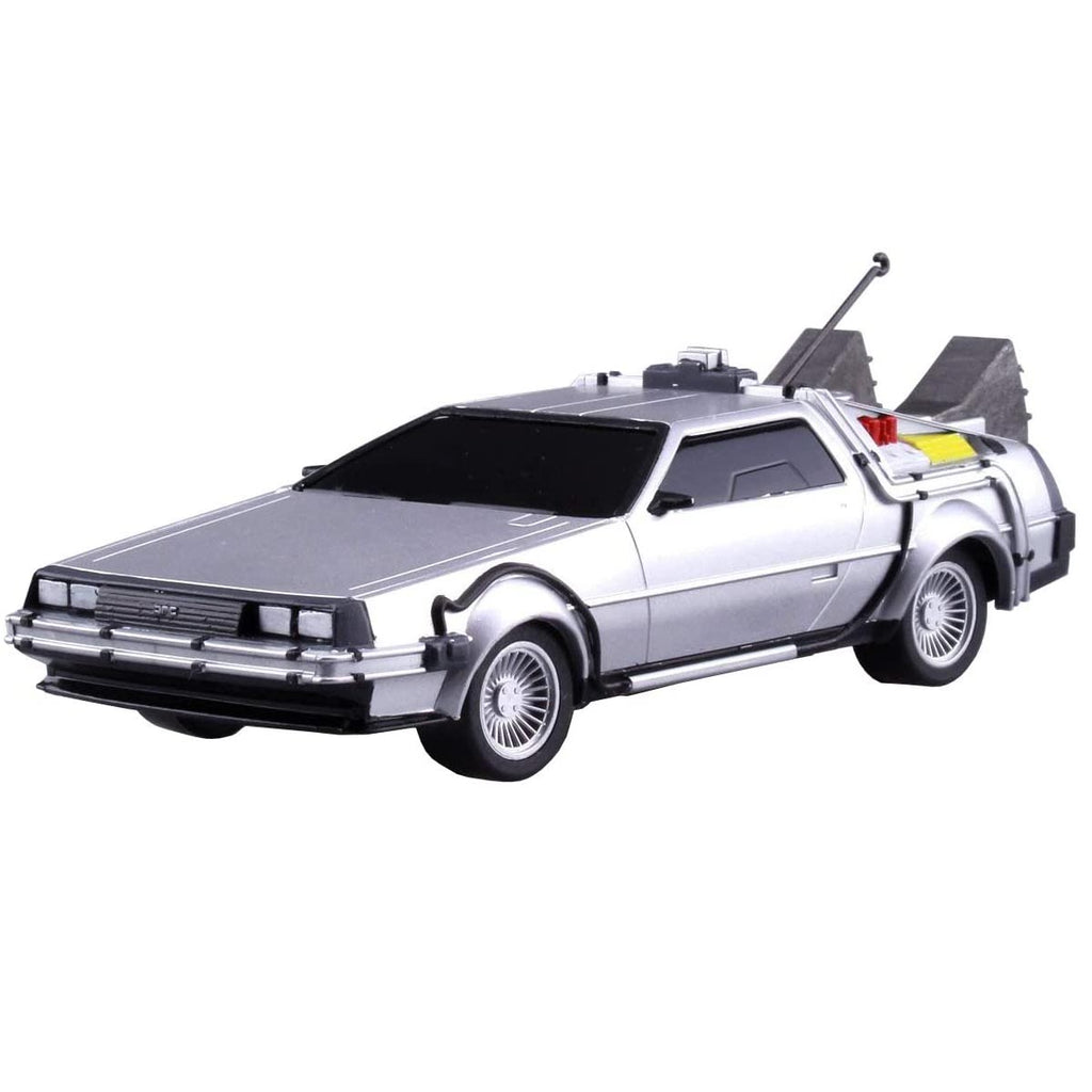 Aoshima Movie Mecha Series No.11 Back to the Future Pullback DeLorean Part.1 1/43 Scale Plastic Model kit