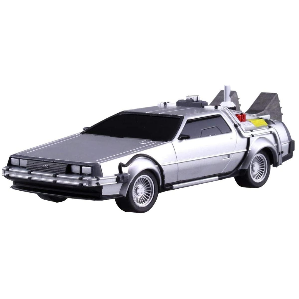 Aoshima Movie Mecha Series No.12 Back to the Future Pullback DeLorean Part.2 1/43 Scale Plastic Model kit