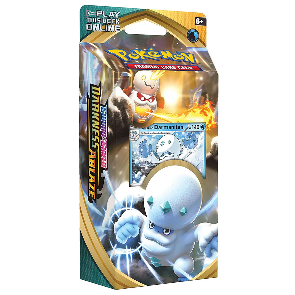 "Pokémon TCG: Sword & Shield Darkness Ablaze Theme Deck Featuring Galarian Darmanitan ""ENGLISH EDITION"""