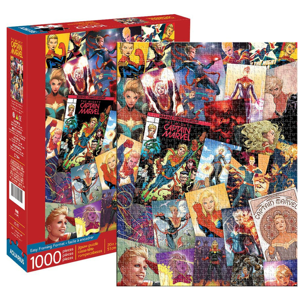 Marvel Captain Marvel Collage 1000 pc Puzzle