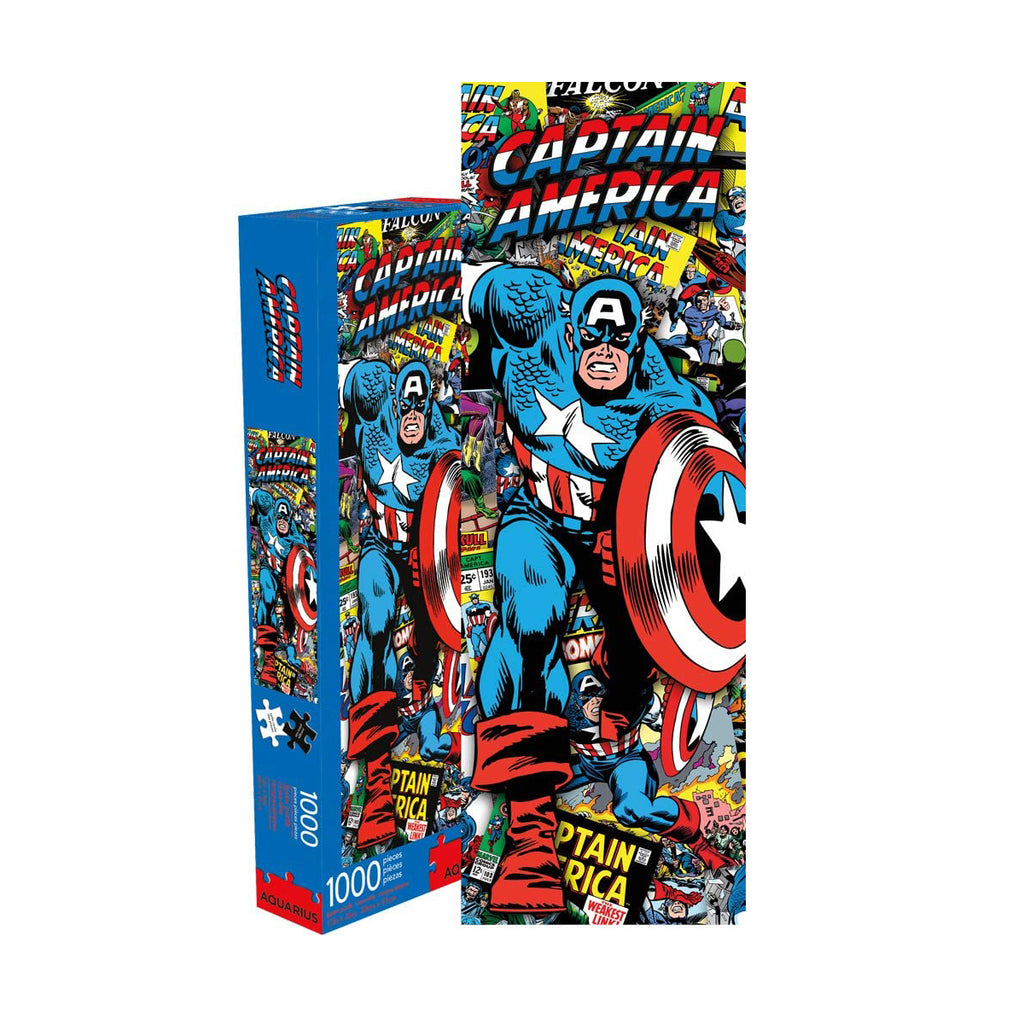 Marvel Capt America Collage 1000 pc Puzzle