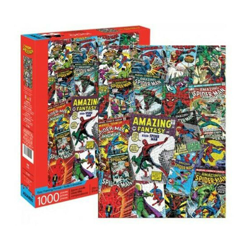 Marvel Spider-man Collage 1000 pc Puzzle