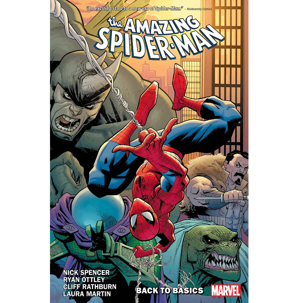 Amazing Spider-Man by Nick Spencer Vol. 1: Back to Basics (Amazing Spider-Man (2018)) Paperback