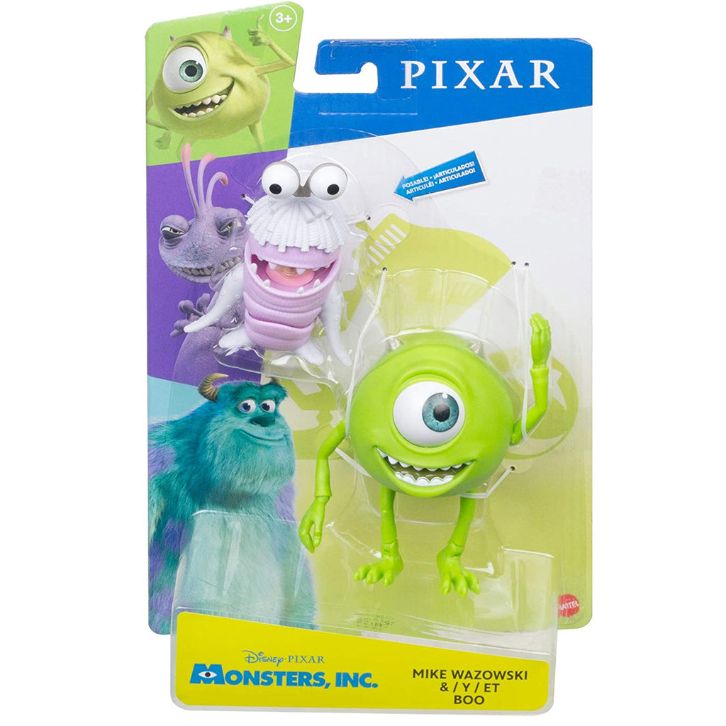 Disney Pixar Monsters, Inc. Mike Wazowski & Boo Figures