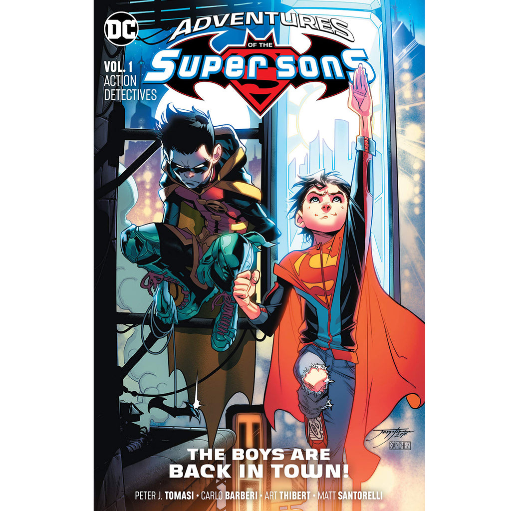 Adventures of the Super Sons Vol. 1: Action Detectives - Paperback