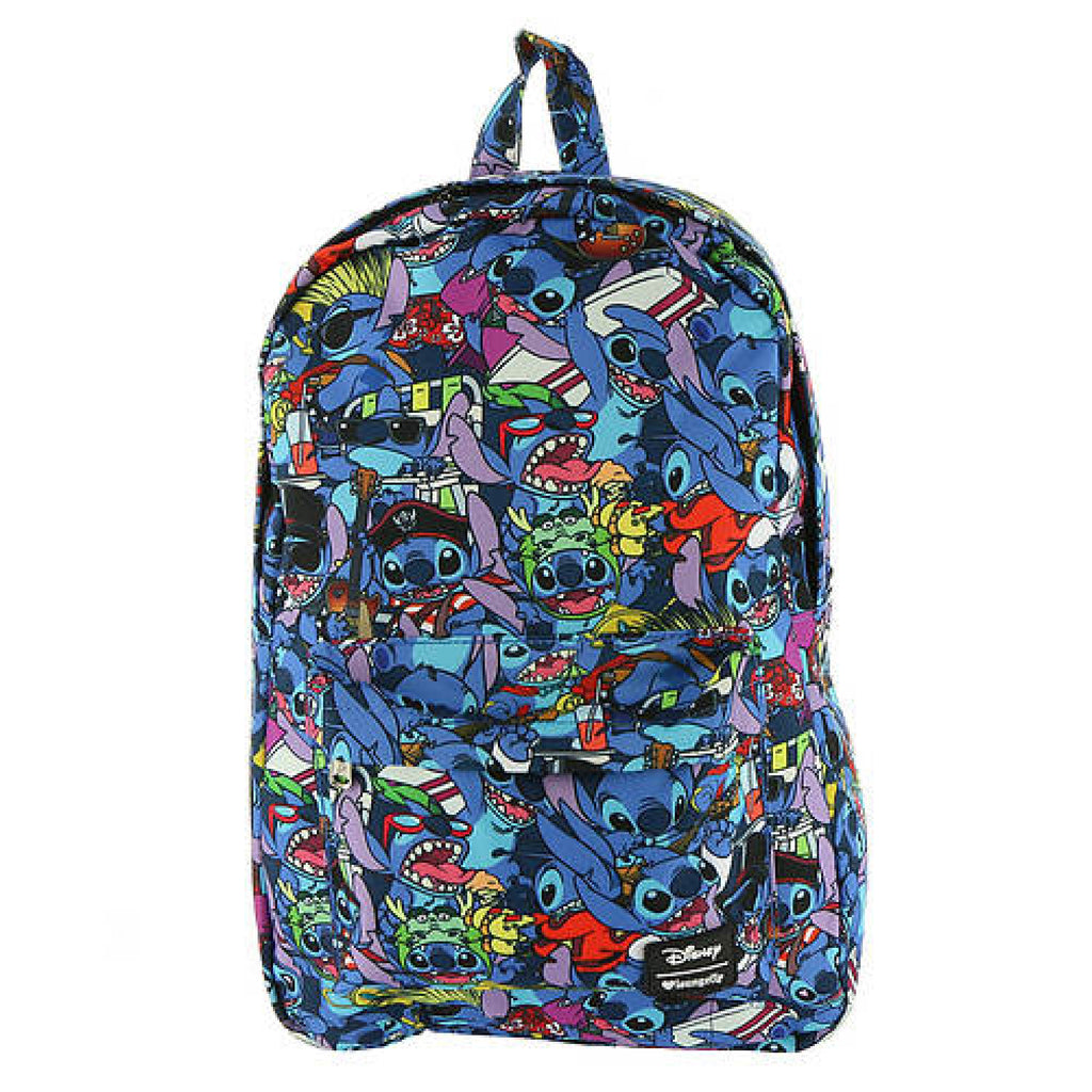 Loungefly Stitch All Over Print Backpack Standar