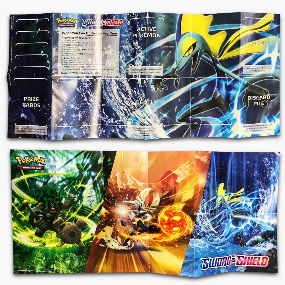 Pokemon TCG: Sword & Shield Theme Deck Featuring Inteleon (Spanish Edition)